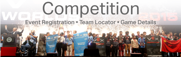All VEX Competition info