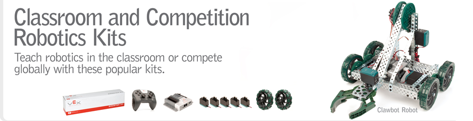 Classroom and Competition Robotics Kits