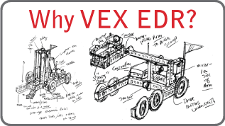 Why VEX EDR?