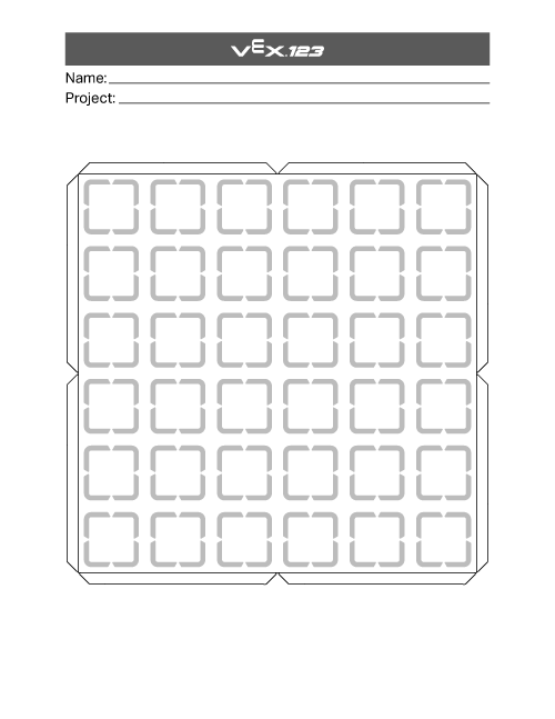 Motion Planning Worksheet