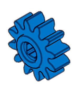 VEX IQ 12 Tooth Gear