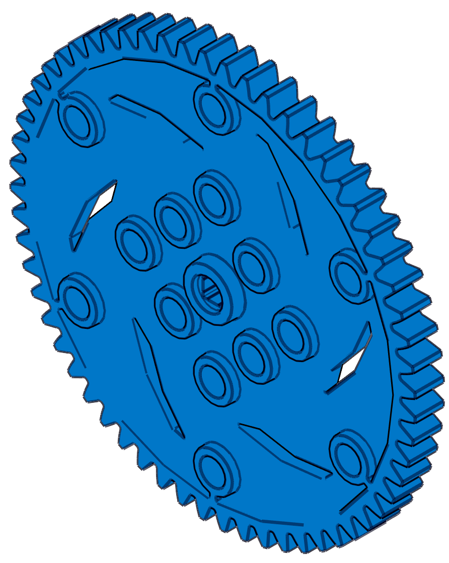 VEX IQ 60 Tooth Gear
