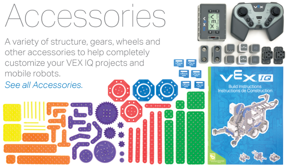 VEX IQ Accessories