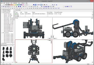 VEX IQ SnapCAD Screenshot